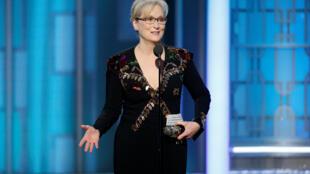 """A atriz Meryl Streep ganha prêmio de Melhor atriz de comédia ou musical: """"Florence: Quem é esta mulher?"""""""