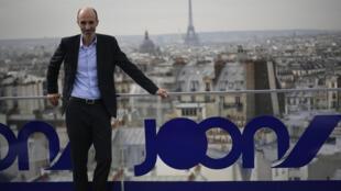 Jean-Michel Mathieu,diretor general da Joon, durante apresentação da companhia em Paris. 25/09/17