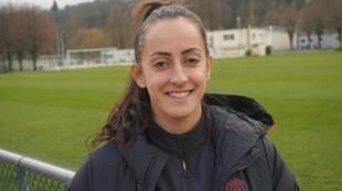 A jogadora Luana, nova contratação do PSG.