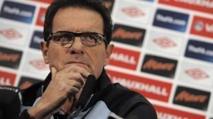Новый тренер сборной России, итальянец Фабио Капелло (Fabio Capellо), бывший тренер сборной Англии