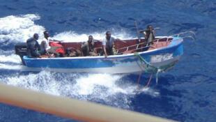 La sécurité maritime en mer, l'un des principaux objectifs contre la piraterie dans le golfe de Guinée.