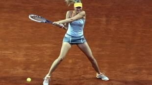 Фото: Мария Шарапова на турнире в Риме 16 мая 2013 года