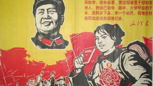 文革时期有关知识青年上山下乡的宣传画