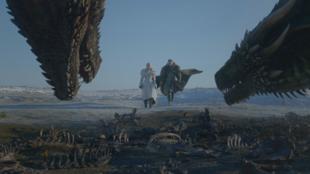 """Imagem do trailer da oitava temporada de """"A Guerra dos Tronos""""."""