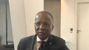 Ulisses Correia e Silva, primeiro-ministro de Cabo Verde, na sede do Banco Mundial em Paris.