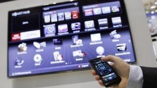 A Samsung's smart TV