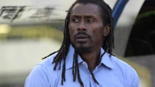 Aliou Cissé, entraîneur du Sénégal.