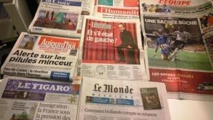 Diários franceses 02/01/2015