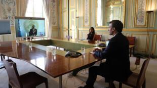 Emmanuel Macron-WHO