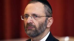 France's chief rabbi Gilles Bernheim