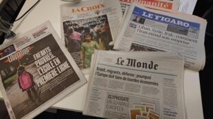Diários franceses 27.11.2017