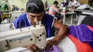 La prison de Lurigancho compte douze entreprises qui emploient 600 détenus.