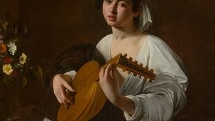 The Lute Player by Caravaggio at the Jacquemart-André in Paris