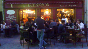 Winebar L'Échanson in Nancy, France