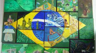 Obra do Museu do Imigrante em São Paulo.