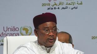 Shugaban kasar Nijar Mahamadou Issoufou.
