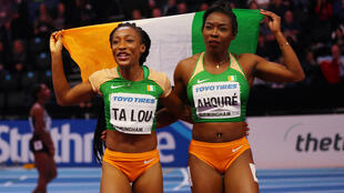 Ivorian sprinters Murielle Ahoure and Marie-Jose Ta Lou took gold and silver respectively at the 2018 world indoor athletics championships.