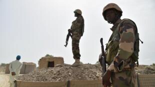 Des soldats nigériens en patrouille (photo d'illustration).
