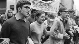 On 13 May 1968, workers and students came together in protest. It led to the biggest general strike in French history.
