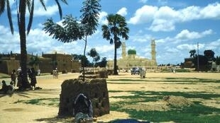 A mosque in Kano