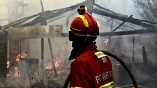 Incêndio em Águeda, Portugal