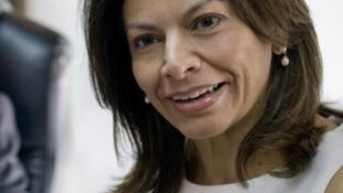 La presidenta de Costa Rica, Laura Chinchilla.
