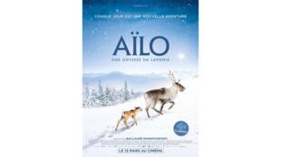 Affiche du film «Aïlo, une odyssée en Laponie».