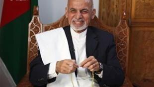 El nuevo presidente afgano Ashraf Ghani.