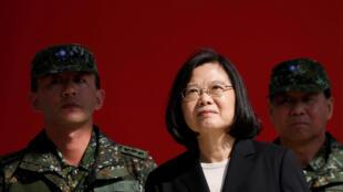 Uy tín của tổng thống Đài Loan Thái Anh Văn tăng cao với hong trào đòi dân chủ Hồng Kông.