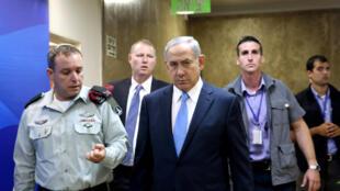 Le premier ministre israélien Benyamin Netanyahu, le 9 octobre 2016 à Jérusalem.