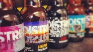 Distrikt is one of the dozens of craft beer breweries that have opened in France in the last few years.