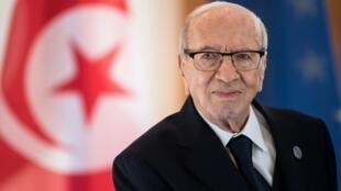 The late Tunisian President, Beji Caïd Essebsi, who died on 25 July 2019.