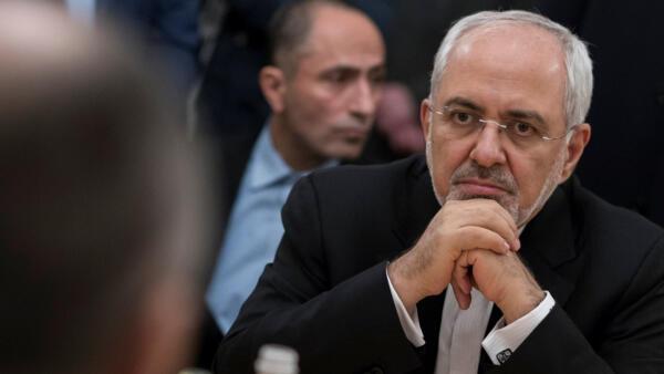 O ministro das Relações Exteriores do Irã, Mohammad Javad Zarif.