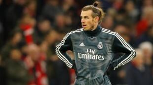 Dan wasan gaba na Real Madrid Gareth Bale