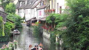 Thành phố Colmar, vùng Alsace, Pháp.