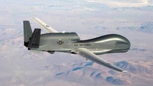 Ảnh minh họa máy bay không người lái RQ-4 Global Hawk của Không Quân Mỹ tương tự với chiếc bị quân đội Iran bắn hạ ngày 20/06/2019.