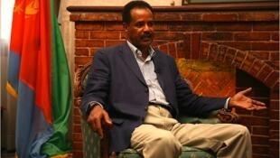 Le président de l'Erythrée, Issayas Afewerki.