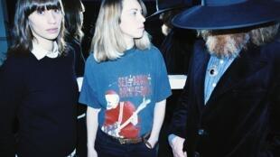 Le groupe Juniore, avec Anna Jean à gauche.