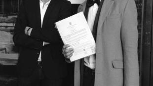 Йоханнес и Йаан заключили договор о сожительстве 22 января 2016 г.