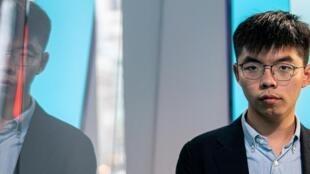លោក Joshua Wong មេដឹកនាំក្រុមបាតុករទីក្រុងហុងកុង