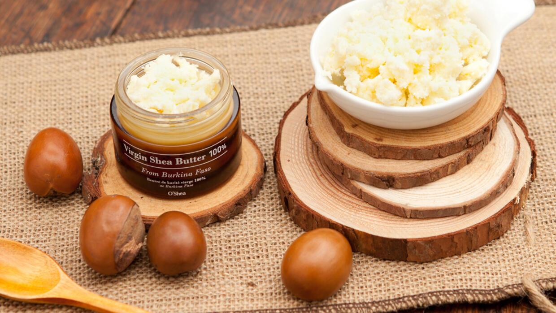Le beurre de karité est utilisé dans les cosmétiques.