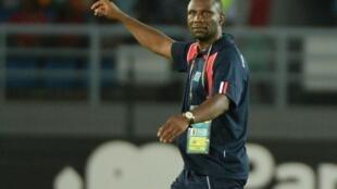 Le sélectionneur de l'équipe de RDC, Florent Ibenge.