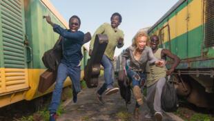 Le groupe sénégalais, Takeifa, une photo prise dans la gare de Dakar.