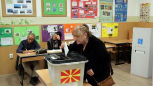 همهپرسی برای تغییر نام مقدونیه، آغاز شد.