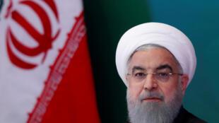 Tổng thống Iran Hassan Rouhani tham dự cuộc gặp các lãnh đạo Hồi Giáo tại Hyderabad, Ấn Độ, ngày 15/02/2018