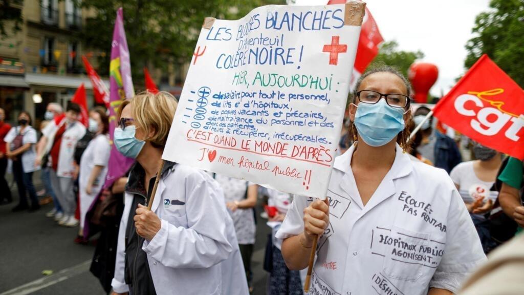 «Ségur de la santé»: les personnels maintiennent la pression sur le gouvernement