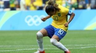 La Brésilienne Marta.
