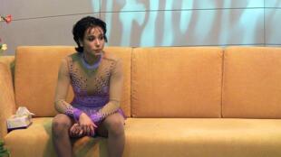Cựu vô địch trượt băng nghệ thuật Pháp Sarah Abitbol, năm 2001.