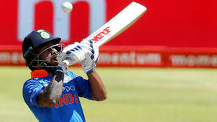 India's opening batsman Shikhar Dhawan scored a hundred against South Africa in the fourth ODI on Saturday.