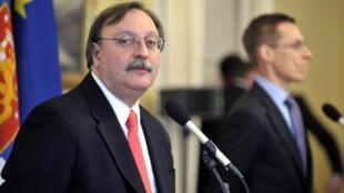 Григол Вашадзе, министр иностранных дел Грузии с декабря 2008 г. по октябрь 2012 г. Кандидат в президенты Грузии.